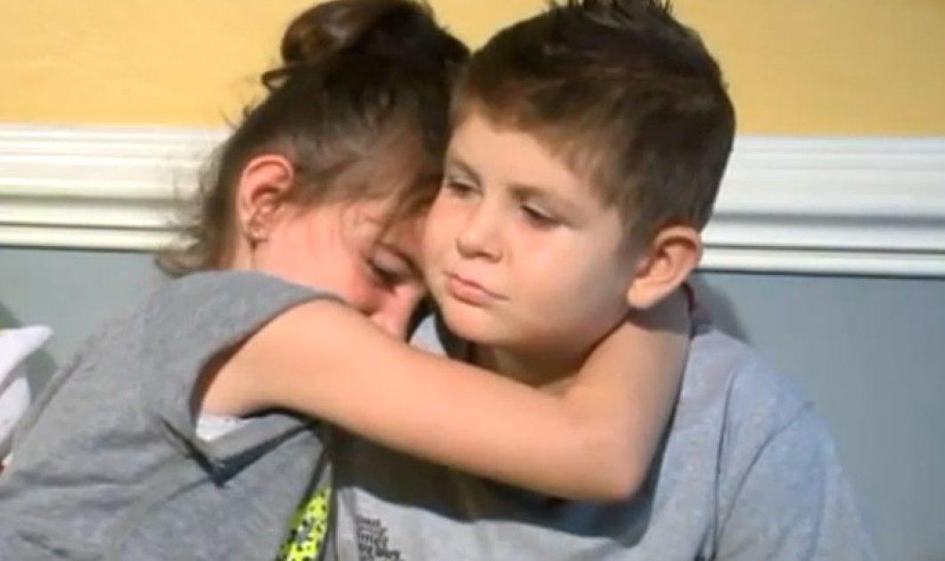 Συγκινητική ιστορία: Η 7χρονη Άιλα δεν φεύγει από το πλευρό του φίλου της που πεθαίνει από λευχαιμία - Κυρίως Φωτογραφία - Gallery - Video