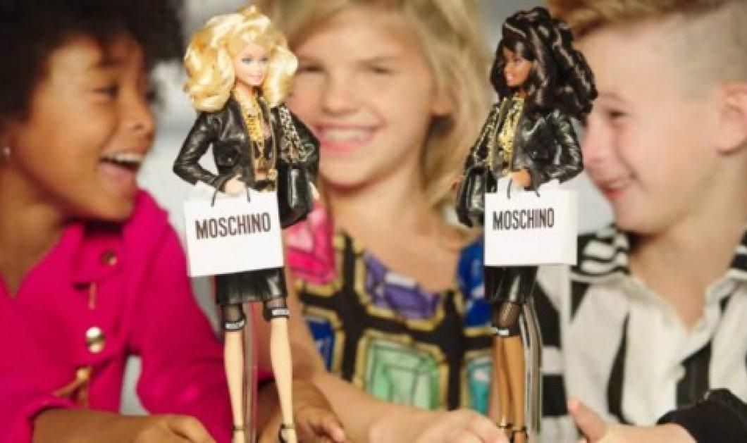 Μια κούκλα από τον οίκο Moschino τα σπάει! Για πρώτη φορά αγόρι πρωταγωνιστεί σε διαφήμιση της Barbie! - Κυρίως Φωτογραφία - Gallery - Video