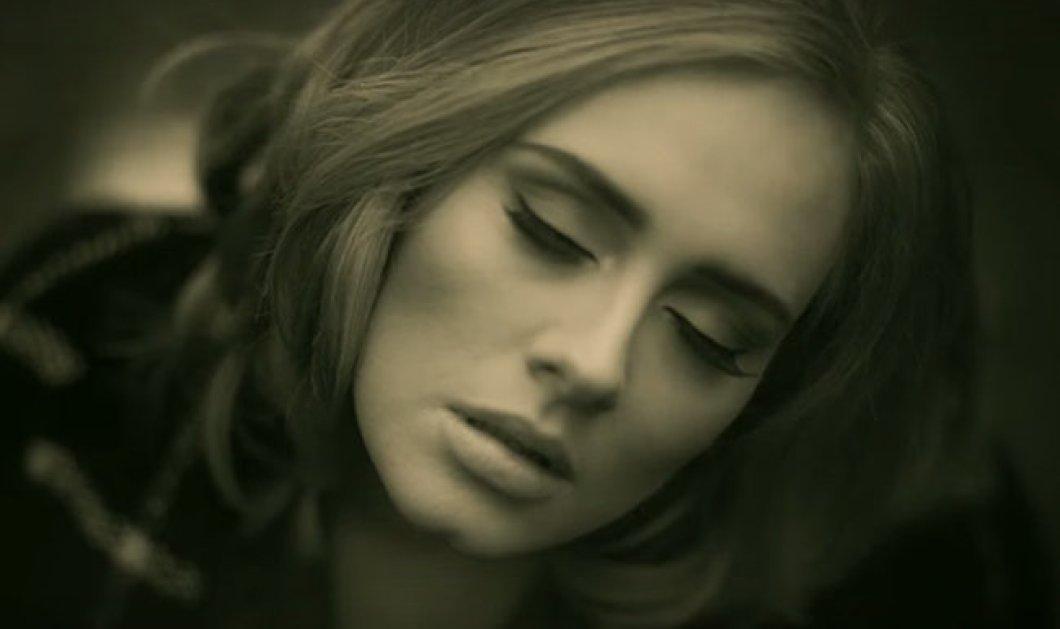 Τo «Hello» της Adele σπάει το ένα ρεκόρ μετά το άλλο -  Έφτασε  πάνω  από 1 εκ. downloads - Κυρίως Φωτογραφία - Gallery - Video