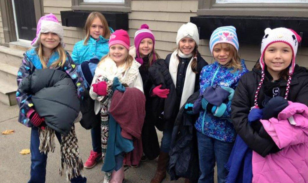 Υπέροχο! Καναδεζάκια κρέμασαν μπουφάν στους στύλους των δρόμων για τους φτωχούς & άστεγους  - Κυρίως Φωτογραφία - Gallery - Video