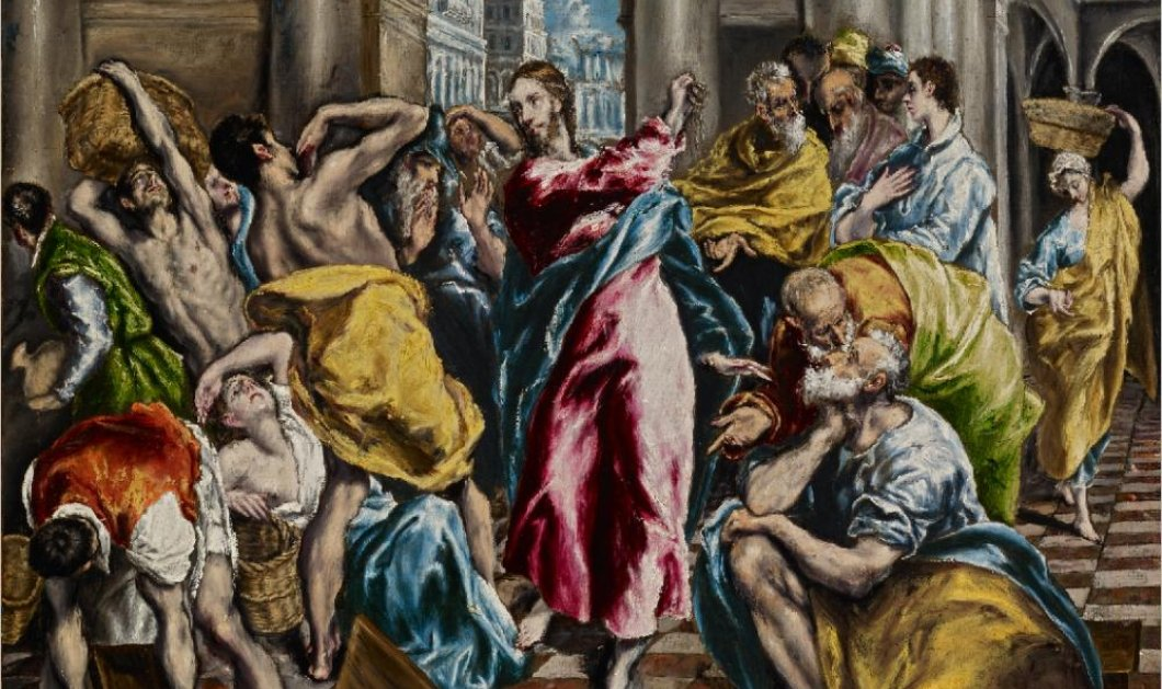 Τολέδο: 5 πίνακες του διεθνούς Έλληνα Νίκου Φλώρου αφιερωμένοι στον El Greco - Εγκαίνια από τον Περιφερειάρχη Νοτίου Αιγαίου - Κυρίως Φωτογραφία - Gallery - Video