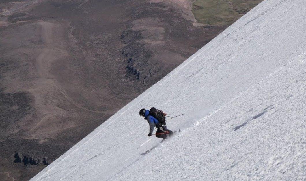 Συγκλονιστικό βίντεο: Πως ο Σκιέρ πέφτει από βουνό 500 μέτρων και επιζεί! Μην το χάσετε    - Κυρίως Φωτογραφία - Gallery - Video