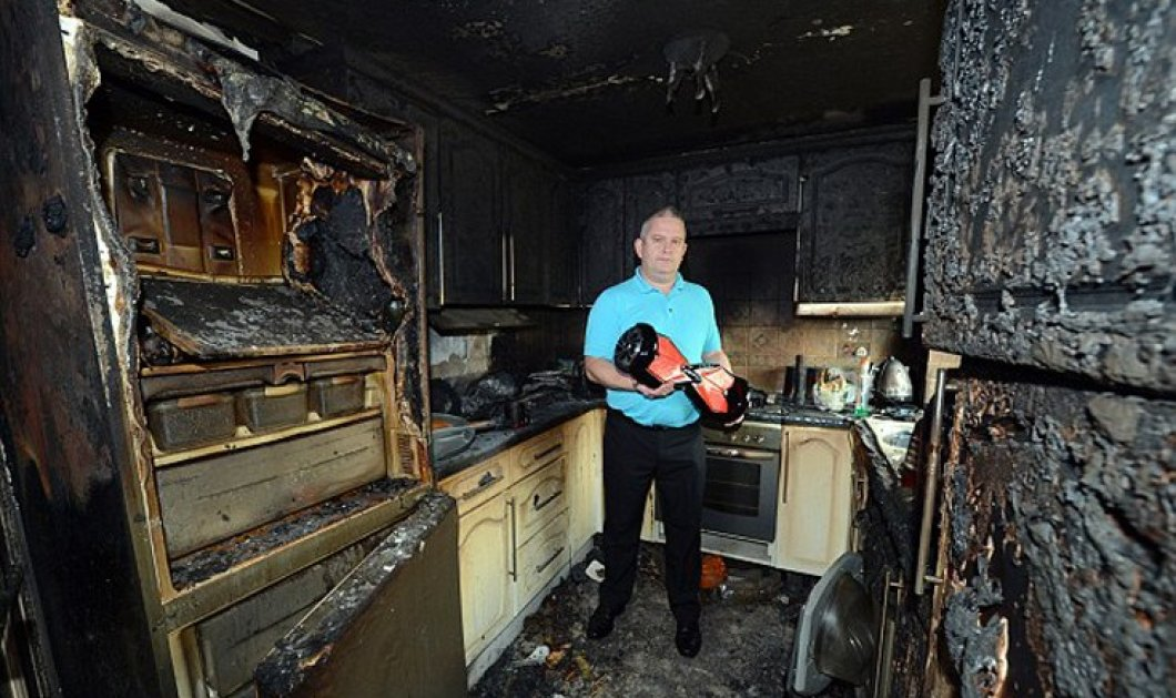 Πώς ένα δώρο κατέστρεψε μια ολόκληρη κουζίνα - Η έμπνευση του παππού που κόστισε 25.000 λίρες  - Κυρίως Φωτογραφία - Gallery - Video