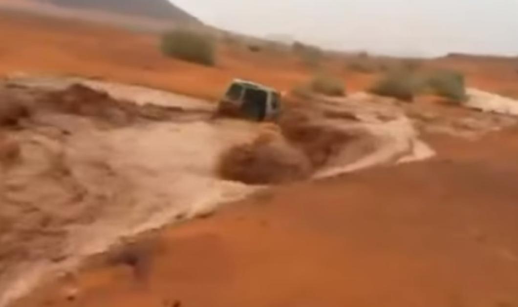 Βίντεο: Πως η τζιπάρα του κυρίου έγινε βαρκούλα που αρμενίζει στα ορμητικά νερά & .. έπιασε έρημο! - Κυρίως Φωτογραφία - Gallery - Video