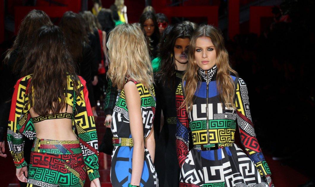 #GREEK: H σειρά της Versace υμνεί τον ελληνικό μαίανδρο – Ως σήμα του μέλλοντος τον χρήζει ο Οίκος - Κυρίως Φωτογραφία - Gallery - Video