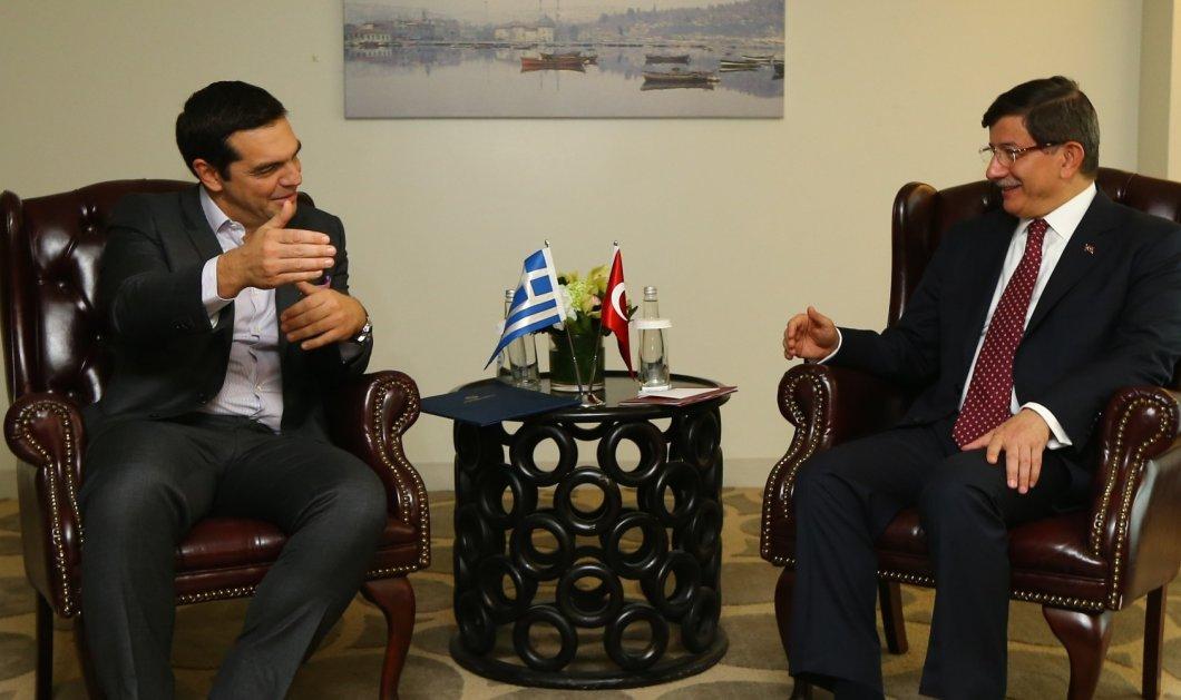 Δείτε live την συνέντευξη των δύο πρωθυπουργών: Νταβούτογλου - Τσίπρα  - Κυρίως Φωτογραφία - Gallery - Video
