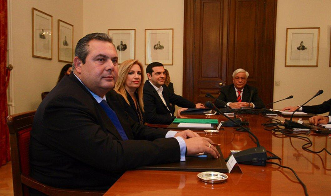 Συμβούλιο Πολιτικών Αρχηγών: Δύο επιτροπές για ασφαλιστικό και Σύνταγμα πρότεινε ο Τσίπρας  - Κυρίως Φωτογραφία - Gallery - Video