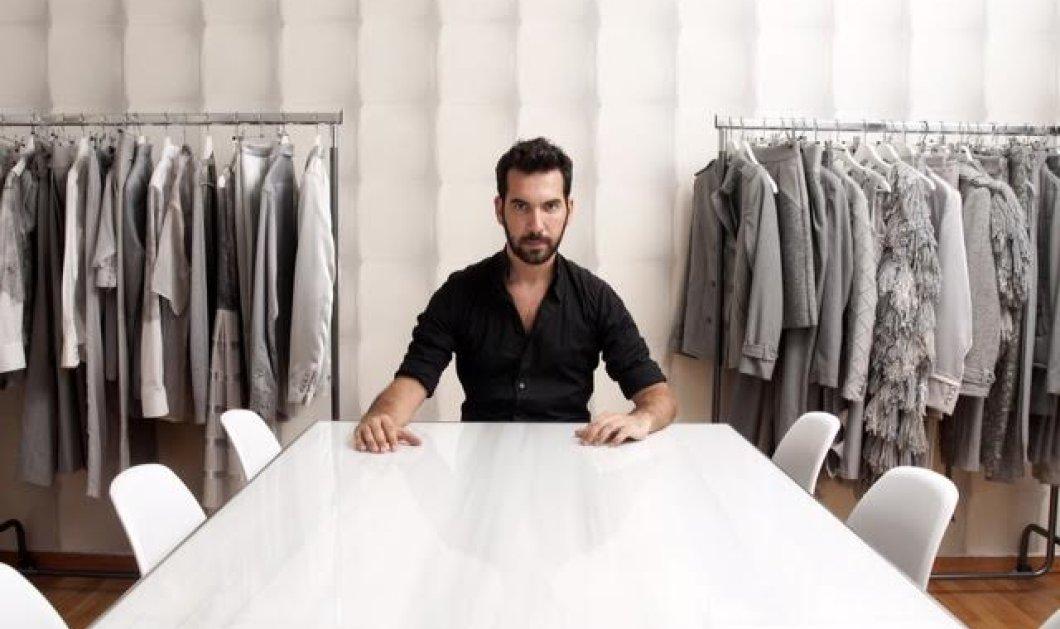 Μade in Greece o Δημήτρης Πέτρου ο νέος σχεδιαστής μόδας -Ντύνει Ρουβά 0a1b30649c3