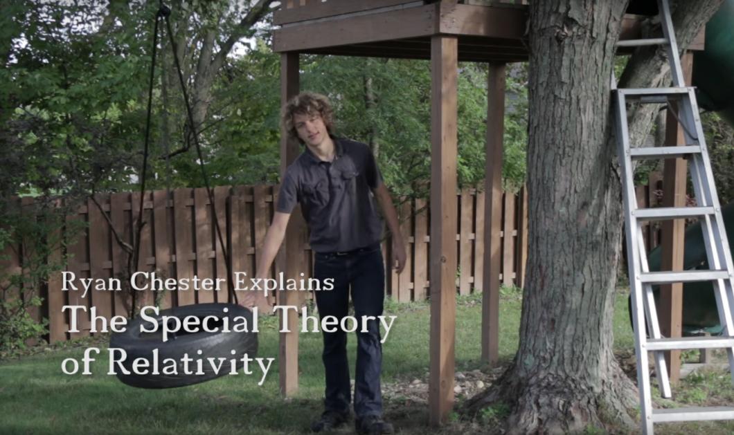 18χρονος Αϊνστάιν κέρδισε 250.000 δολάρια εξηγώντας την Θεωρία της Σχετικότητας του Αϊνστάιν σε 7,5'   - Κυρίως Φωτογραφία - Gallery - Video