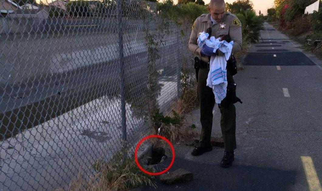 Έθαψαν νεογέννητο ζωντανό στην άκρη του δρόμου κάτω από την άσφαλτο - Απίστευτη φώτο  - Κυρίως Φωτογραφία - Gallery - Video