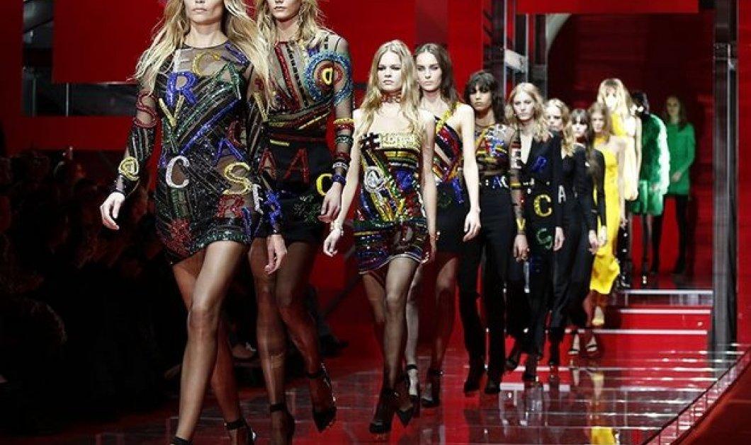Η χειμωνιάτικη συλλογή του Versace είναι αφιερωμένη στην Ελλάδα - Έκρηξη κομψότητας & καλαισθησίας με το hashtag Greek - Κυρίως Φωτογραφία - Gallery - Video