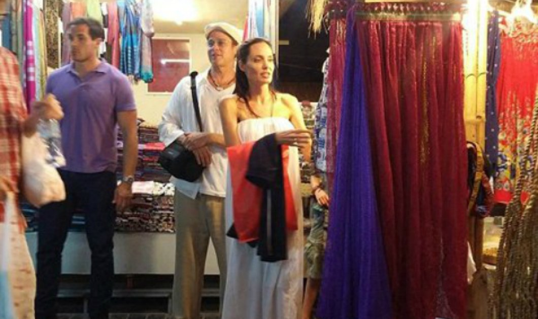 Έτσι απλά... η Αντζελίνα Τζολί και ο Μπραντ Πιτ για ψώνια στην Καμπότζη σε υπαίθρια αγορά - Κυρίως Φωτογραφία - Gallery - Video