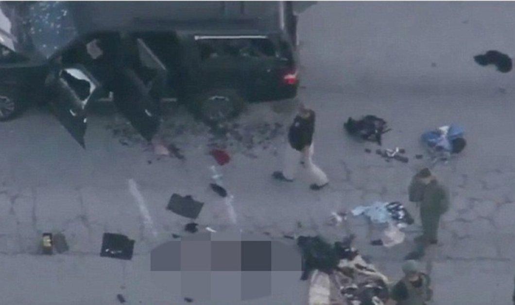Ποιοι είναι οι δυο δράστες του μακελειού: 28χρονος Αμερικανός & και μια 27χρονη - και οι δυο νεκροί   - Κυρίως Φωτογραφία - Gallery - Video