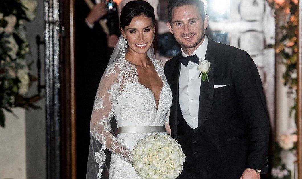O 1000+ 1 νύχτες γάμος της 36χρονης τηλεπαρουσιάστριας με τον όμορφο ποδοσφαιριστή στο Knightsbridge  - Κυρίως Φωτογραφία - Gallery - Video