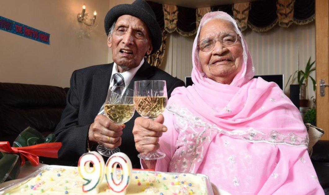 110 αυτός 103 η γυναίκα του: 90 χρόνια γάμου! Πάρτι γενεθλίων με 27 εγγόνια & 23 δισέγγονα  - Κυρίως Φωτογραφία - Gallery - Video