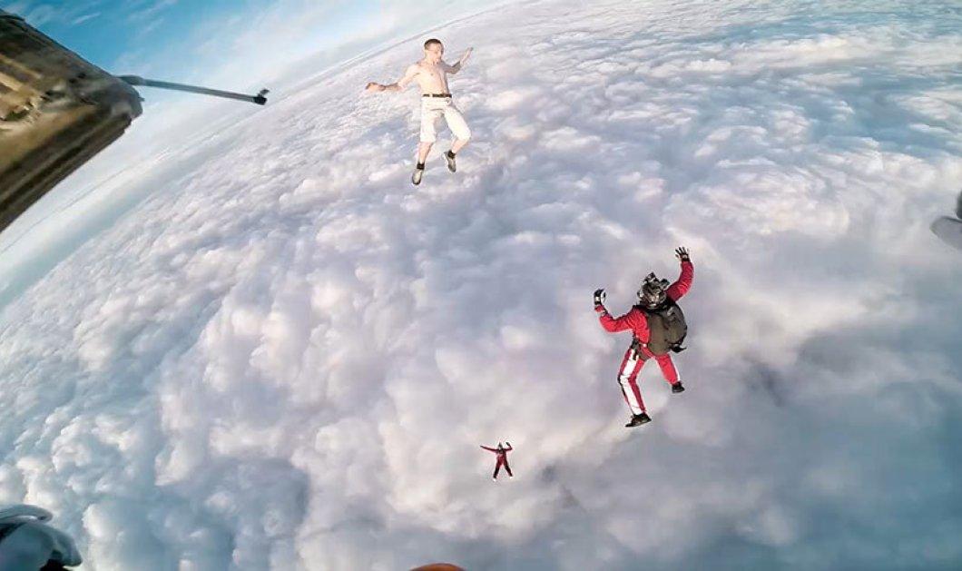 Οι 17 εικόνες - κίνδυνος ευτυχώς όχι θάνατος: Έπεσαν χωρίς αλεξίπτωτο και μας τρέλαναν  - Κυρίως Φωτογραφία - Gallery - Video