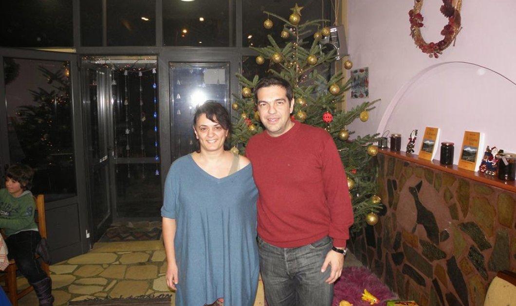 Πώς πέρασαν τα Χριστούγεννα ο Τσίπρας & η Περιστέρα σε χωριό της Αρτας; Φώτο  - Κυρίως Φωτογραφία - Gallery - Video