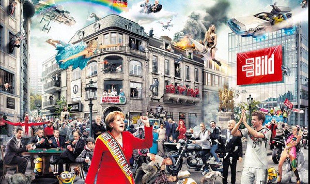 Τα γεγονότα της χρονιάς (+ Βαρουφάκης) με ένα άκρως εντυπωσιακό κολάζ της Bild - Κυρίως Φωτογραφία - Gallery - Video