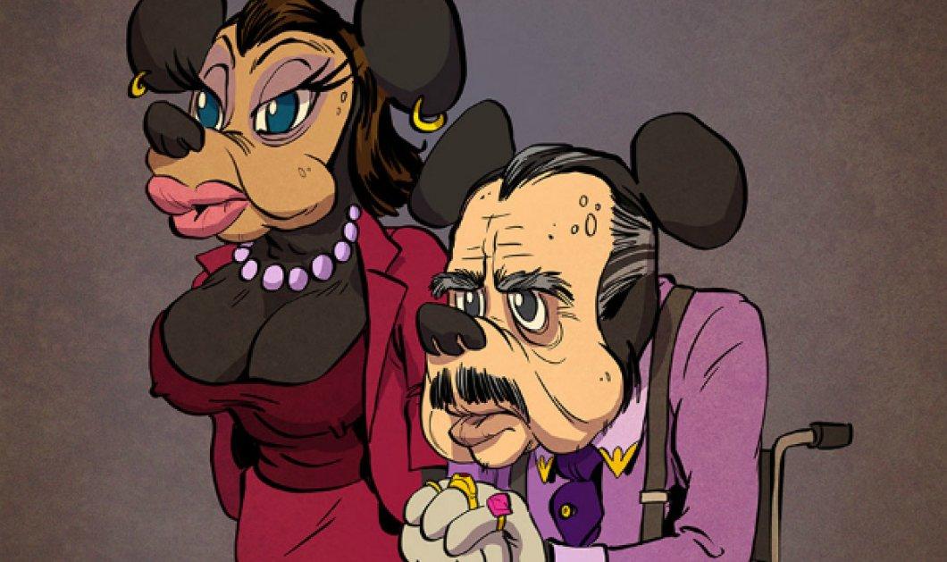 Τα αγαπημένα μας καρτούν... ηλικιωμένα! Ο αυστηρός Ντάφι 78 ετών, ο Ντόναλτ με πι στα 81 του και ο Γκούφι άστεγος στα 83  - Κυρίως Φωτογραφία - Gallery - Video