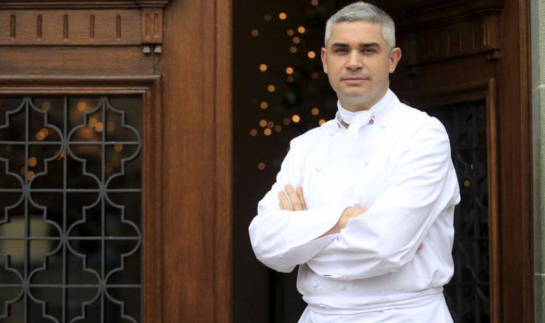 Hôtel de Ville de Crissier: Tο καλύτερο εστιατόριο 2015 στον κόσμο - Ο 44χρονος καλλονός Γαλλοελβετός σεφ του - Φωτό - Κυρίως Φωτογραφία - Gallery - Video