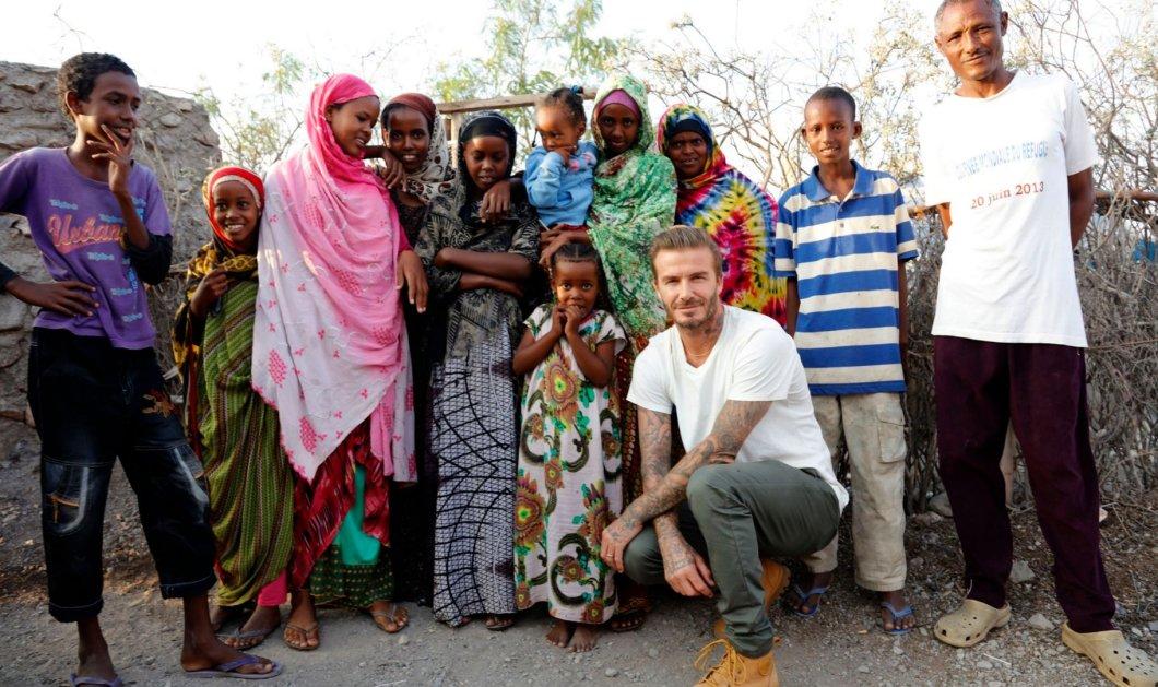 Η γη υποκλίθηκε στον Ντέιβιντ Μπέκαμ: Έπαιξε ποδόσφαιρο & αγκάλιασε τα παιδάκια σε 11 χώρες - Το BBC ήταν εκεί!  - Κυρίως Φωτογραφία - Gallery - Video