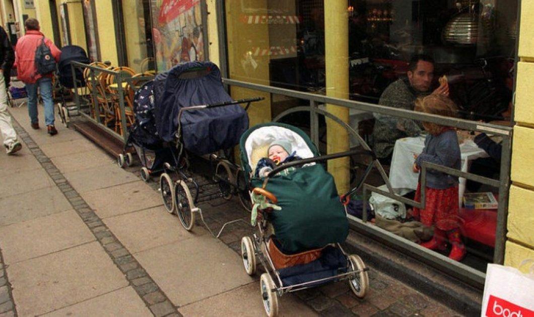 Σκανδιναβοί αφήνουν τα μωρά τους να κοιμούνται στο κρύο - Μια συνήθεια για τους ανθρώπους του Βορρά - Κυρίως Φωτογραφία - Gallery - Video
