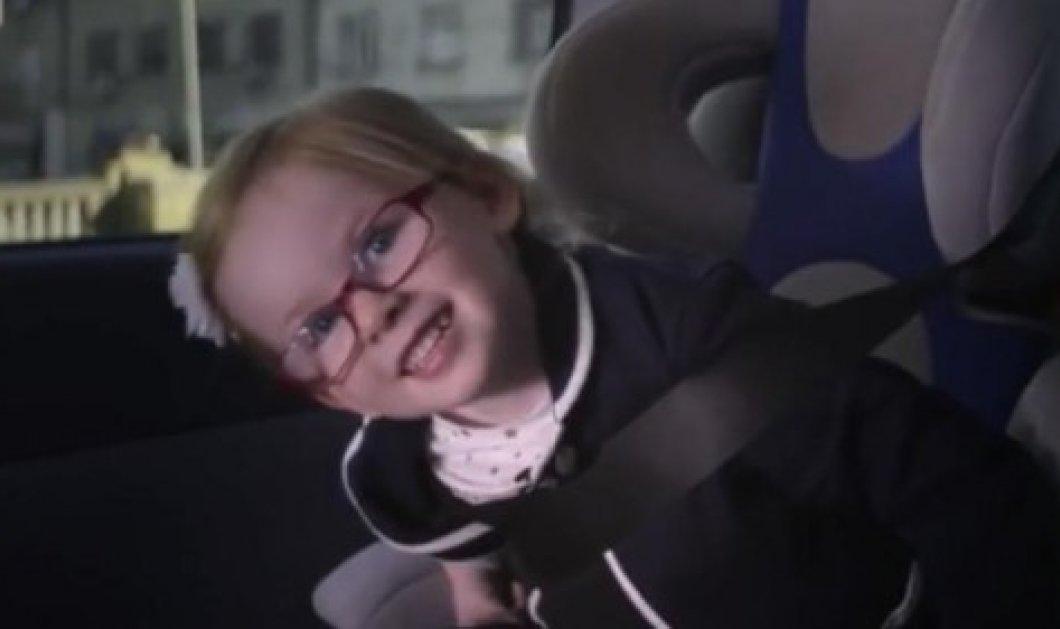 """Απολαυστικό βίντεο! 4χρονο κοριτσάκι κάνει """"test drive"""" σε τεράστιας αντοχής φορτηγό Volvo - Κυρίως Φωτογραφία - Gallery - Video"""