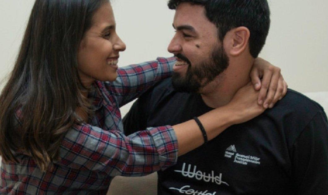 Τρανή απόδειξη αγάπης: Πρόσφερε στην κοπέλα του το δικό του νεφρό για να ζήσει  - Κυρίως Φωτογραφία - Gallery - Video