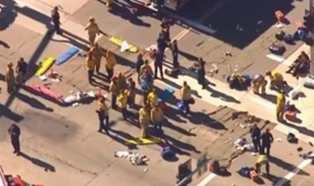 Μακελειό στο Λος Άντζελες: Τουλάχιστον 14 νεκροί και 17 τραυματίες ο τραγικός απολογισμός στο Σαν Μπερναρντίνο - Κυρίως Φωτογραφία - Gallery - Video