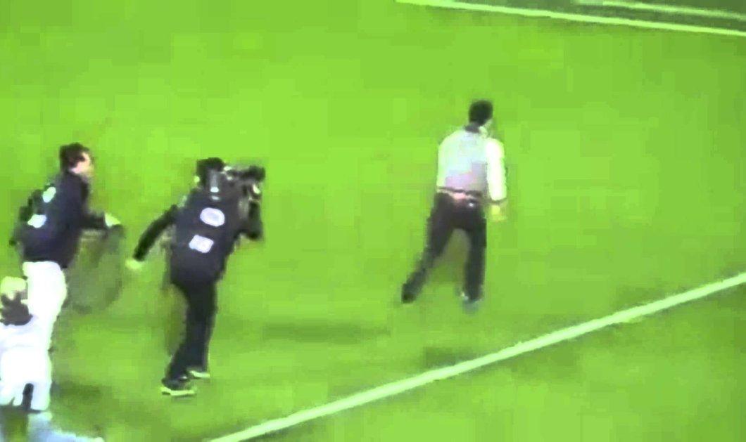 Βίντεο: Έφυγε τρέχοντας όταν του έκανε πρόταση γάμου μέσα στο γήπεδο! - Κυρίως Φωτογραφία - Gallery - Video
