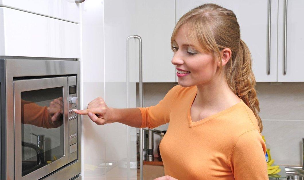 Φούρνος μικροκυμάτων: Ναοι 5 τροφές που δεν πρέπει ποτέ να ξεχαστείς και να ζεστάνεις!  - Κυρίως Φωτογραφία - Gallery - Video