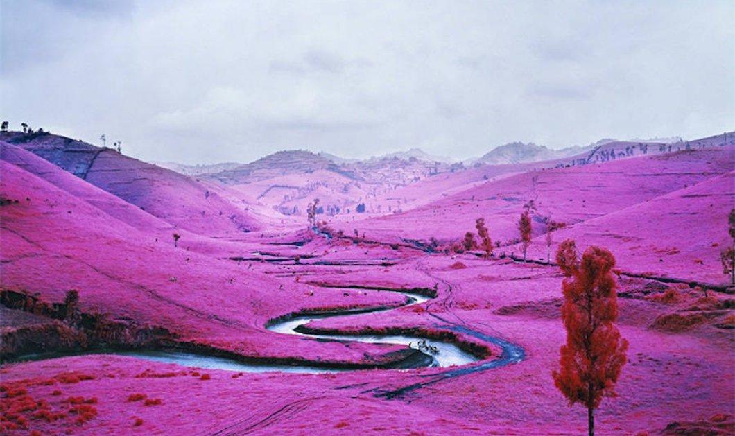 Ασύλληπτης ομορφιάς ροζ τοπία στο Κογκό - Από τα πιο σπάνια & ανεξερεύνητα σημεία της γης  - Κυρίως Φωτογραφία - Gallery - Video