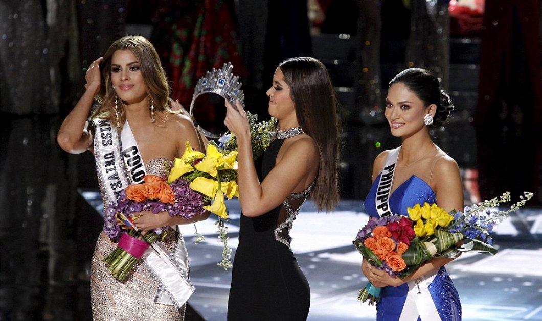 Καλλιστεία «Μις Υφήλιος»: Ο παρουσιαστής έστεψε καταλάθος την Μις Κολομβία - Η μις Φιλιππίνες η νικήτρια - Κυρίως Φωτογραφία - Gallery - Video