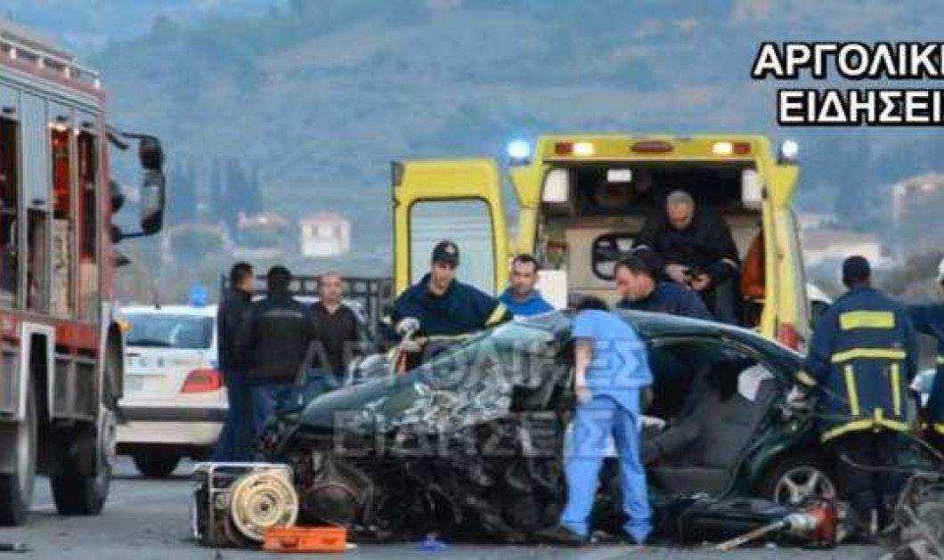 Τραγωδία στο Λυγουριό Αργολίδας: Τρεις νεκροί σε τροχαίο όλοι συγχωριανοί από το Αδάμι (βίντεο) - Κυρίως Φωτογραφία - Gallery - Video