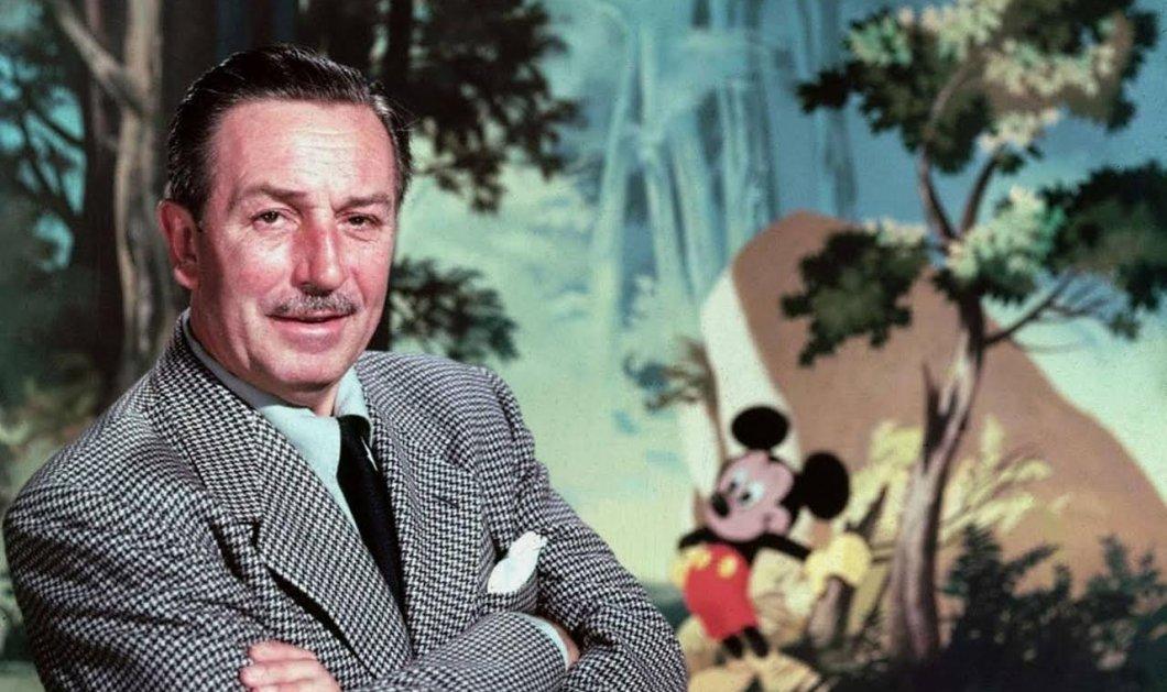 114 χρόνια από γέννηση του Walt Disney, «μπαμπά» του Μίκυ Μάους, του Ντόναλντ & παππού όλων των παιδιών! Σπάνιες συνεντεύξεις & ντοκουμέντα  - Κυρίως Φωτογραφία - Gallery - Video