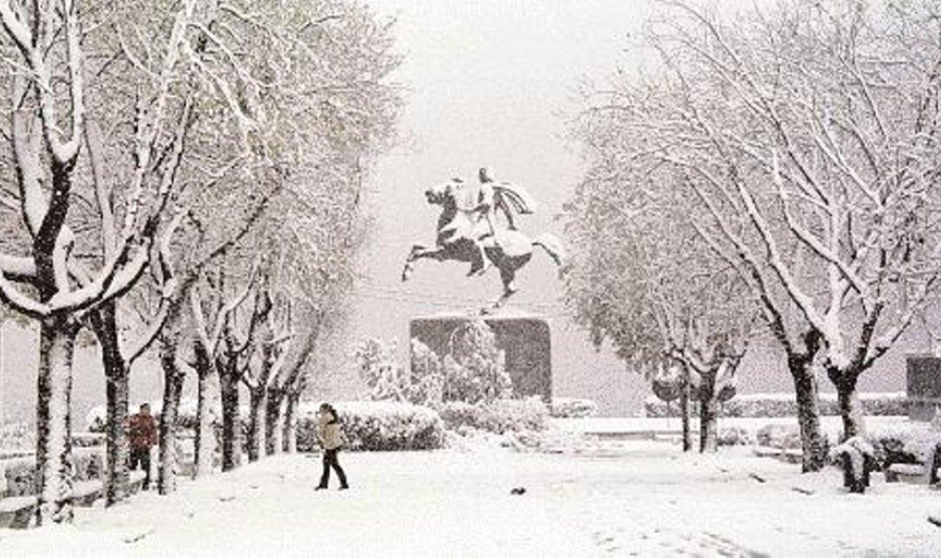 Χιόνια στο καμπαναριό & διπλωμένες νταλίκες στον δρόμο - Όλη η πρόγνωση για τις επόμενες ώρες - Που χρειάζεστε αλυσίδες; - Κυρίως Φωτογραφία - Gallery - Video