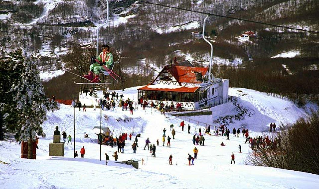 Good News: Ποδαρικό με... πέδιλα - Την Πρωτοχρονιά ανοίγει το χιονοδρομικό στο Πήλιο! - Κυρίως Φωτογραφία - Gallery - Video