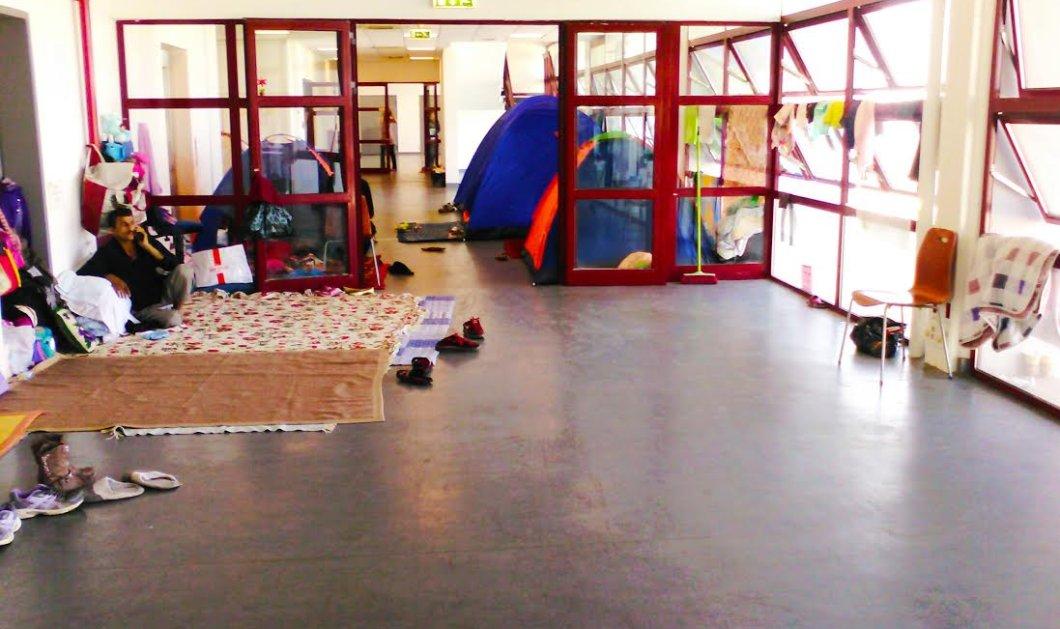 Αυτοί είναι οι χώροι που θα φιλοξενήσουν τους πρόσφυγες στο Ελληνικό - Αύριο η μεταφορά τους - Κυρίως Φωτογραφία - Gallery - Video