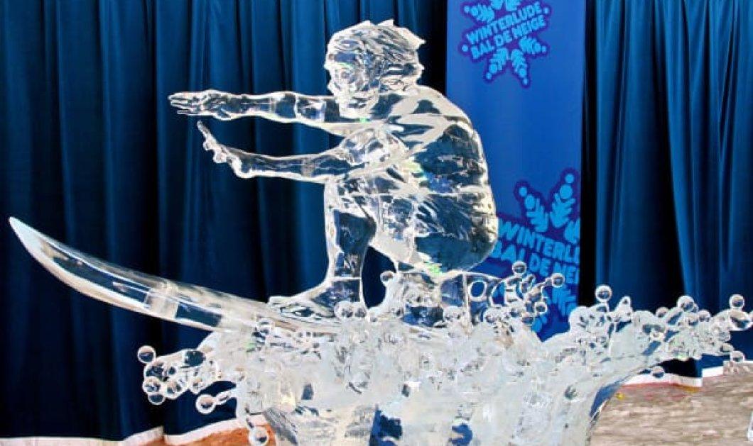 Εικόνες με τα πιο εντυπωσιακά γλυπτά πάγου που έχετε δει ποτέ! Θα σας ξετρελάνουν - Κυρίως Φωτογραφία - Gallery - Video