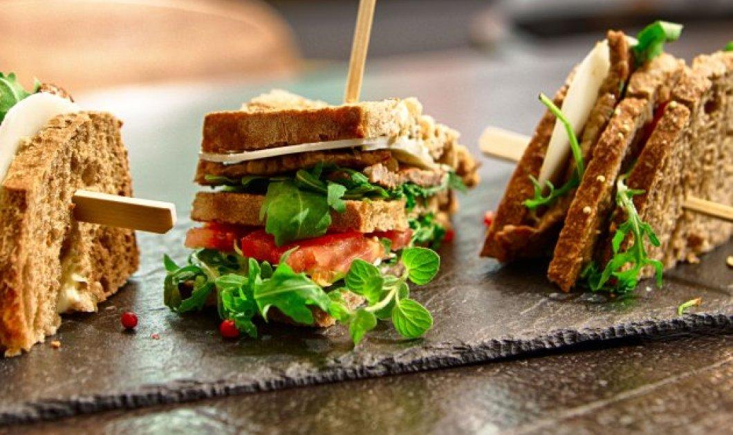 Ώρα για 8 σάντουιτς: Το πικάντικο, το γκουρμεδιάρικο, το λευκαδίτικο, το κρητικό, το πολίτικο- Καλή όρεξη!  - Κυρίως Φωτογραφία - Gallery - Video
