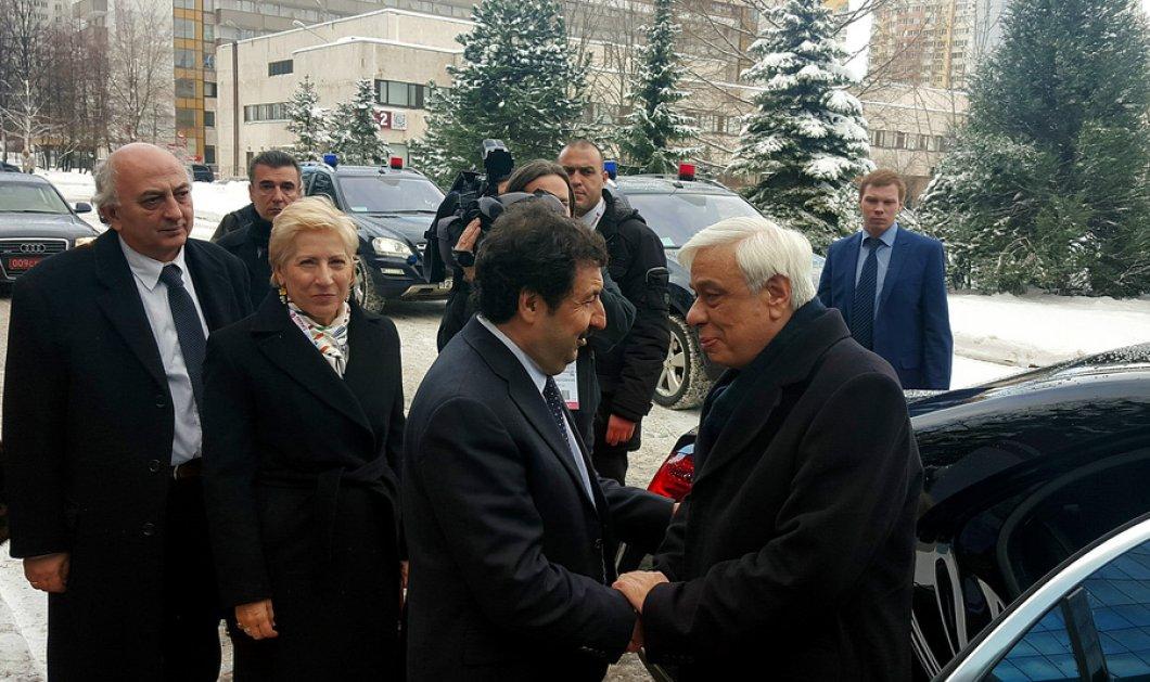 Διήμερη επίσκεψη Προκόπη Παυλόπουλου στη Μόσχα - Ανακηρύχθηκε επίτιμος διδάκτορας της Ρωσικής Προεδρικής Ακαδημίας - Κυρίως Φωτογραφία - Gallery - Video