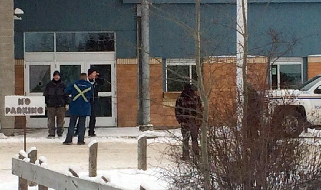 Μακελειό σε δημοτικό σχολείο στον Καναδά: Έφηβος σκότωσε τα δύο του αδέρφια και άλλα 2 άτομα - Κυρίως Φωτογραφία - Gallery - Video