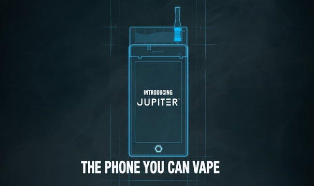 Το gadget της χρονιάς: Κινητό τηλέφωνο και ηλεκτρονικό τσιγάρο σε μια συσκευή  - Κυρίως Φωτογραφία - Gallery - Video