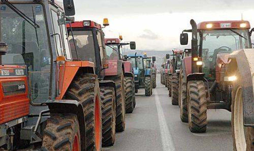 Aγρότες στην Πελοπόννησο απέκλεισαν κατάστημα Lidl για να στείλουν μήνυμα στη Γερμανία - Κυρίως Φωτογραφία - Gallery - Video