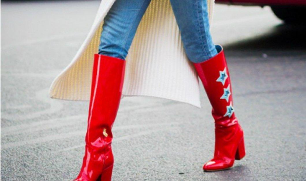 """Πως να βάλεις το τζιν μέσα στις μπότες χωρίς να δείχνεις """"δεύτερη"""": Κομψές προτάσεις για το αγαπημένο παντελόνι - Κυρίως Φωτογραφία - Gallery - Video"""