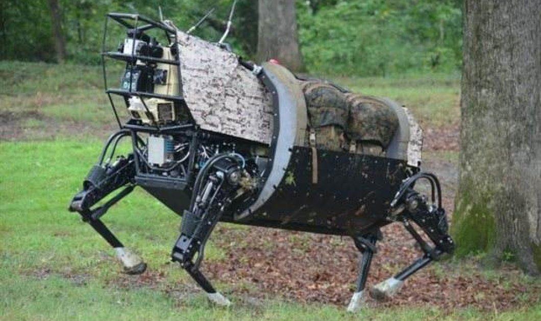 """Ο στρατός των ΗΠΑ αποφάσισε να """"κηδέψει"""" το ρομπότ-μουλάρι του επειδή έκανε πολύ θόρυβο - Κυρίως Φωτογραφία - Gallery - Video"""