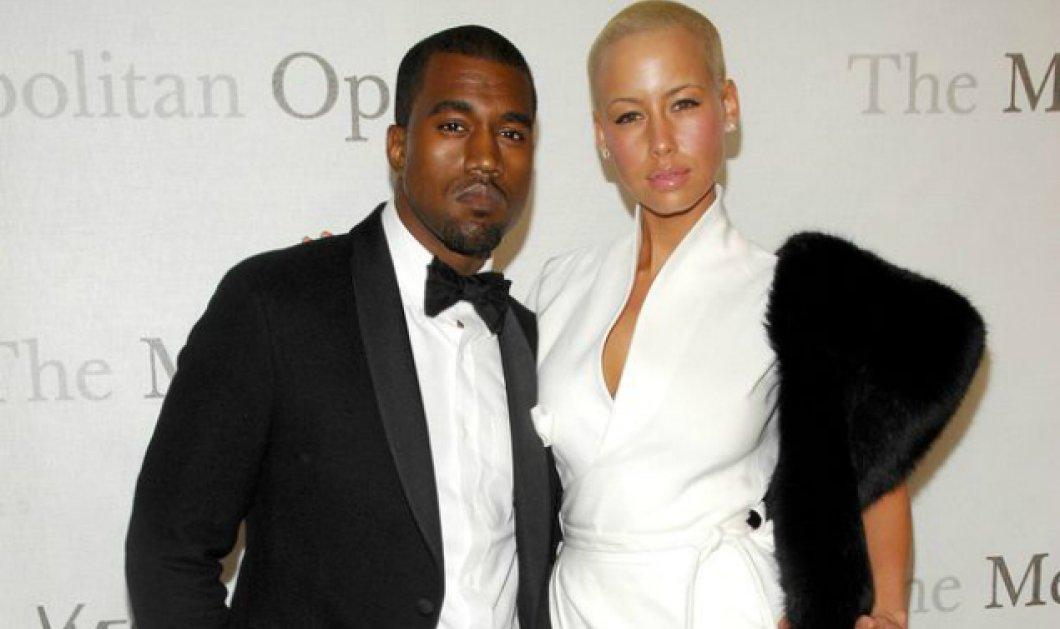 Πόλεμος Kanye West & της πρώην του Amber Rose με tweets - Δείτε τα φαρμακερά τιτιβίσματα - Κυρίως Φωτογραφία - Gallery - Video