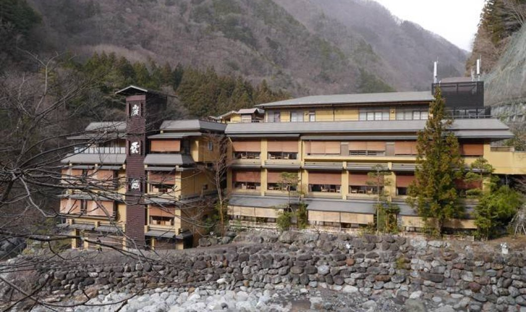 Αυτό είναι το παλαιότερο ξενοδοχείο στον κόσμο - Χτίστηκε πριν από 1300 χρόνια!  - Κυρίως Φωτογραφία - Gallery - Video