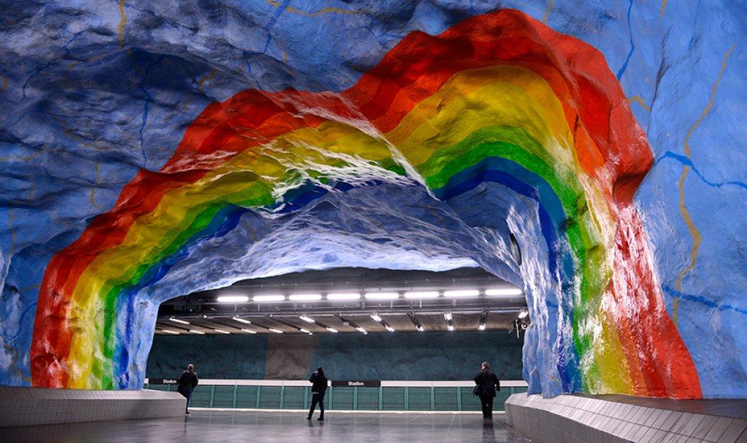 Σταθμοί μετρό που εντυπωσιάζουν σε όλο τον κόσμο - Κορυφαίο design και υψηλή αισθητική - Κυρίως Φωτογραφία - Gallery - Video