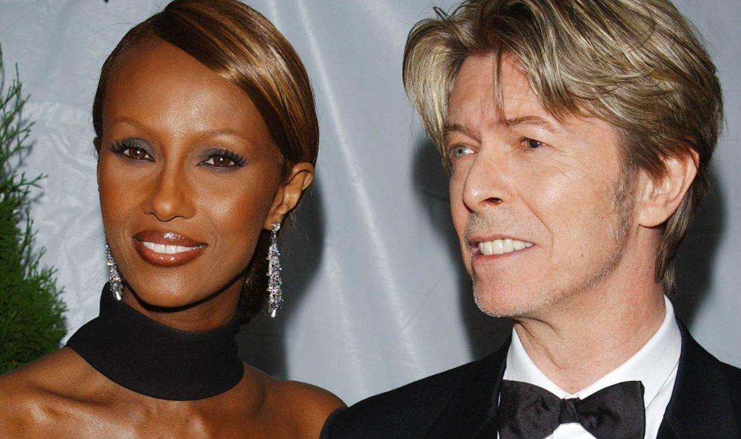 Απίστευτο ! Στη διαθήκη του ο David Bowie αφήνει εκατομμύρια στην Iman & στην νταντά των παιδιών του!!!!!!! - Κυρίως Φωτογραφία - Gallery - Video